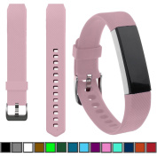 DelTex® Band / Strap With Secure Adjustable Buckle Fastener For Fitbit Alta & Alta HR Activity Tracker Wristband Bracelet
