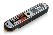 Gourmia GTH9150 Contact & Non Contact Thermometer Dual Meat Thermometer With Digital Thermonuclear & Infrared Readings Dust and Splash Proof
