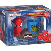 Spider Man Amazing Smile Set Toothbrush Holder, Toothbrush, & Rinse Cup