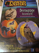 Pumpkin Masters Decoupage Decorating Kit