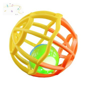 Music and Colourful Lights Soft Activity Ball Goodway Toy,Yellow