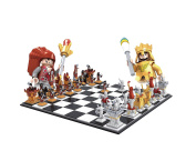 BRICK-LAND Chess Set Building Bricks Chess Game for Kids 6 +, compatible Bricks, 2158 Pieces
