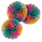 Toysmith Rainbow Pom Ball by Toysmith
