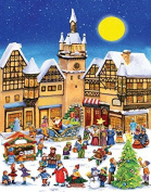 Christmas Village Advent Calendar by Vermont Christmas Company