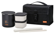 Thermos Thermal Stainless Lunch Box Black DBP-362 BK