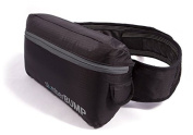 slumberBUMP Positional Sleep Belt for Snoring and Sleep-Disordered Breathing, Black/Grey