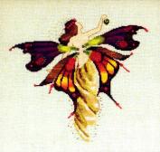 Day Nymph Cross Stitch Pattern