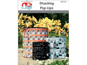 The Fat Quarter Gypsy FQG122 Stacking Pop-Up Pattern