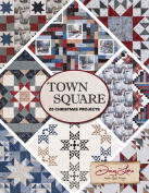 Town Square 20 Christmas Projects Quilt Patterns by Town Square, by Doug Leko of Antler Quilt Design.