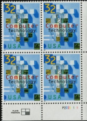 Computer Technology 32 US Postage Stamps #3106 by U.S. Post Office