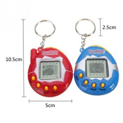 Digital Pet Cyber E-pet Toy Handheld Game Machine with Retro Nostalgic Keychain For Gift -Pier 27