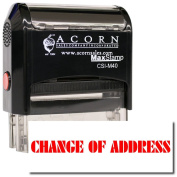MaxStamp - Large Self-Inking Change Of Address Stamp