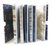 """DCWV """"VINTAGE"""" 60 Blank Cards and Envelopes, 6 Different Vintage Colours, All Occasions Greeting Cards, Size 11cm x 14cm"""