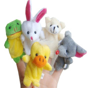 Baby Toys,Haoricu 10pcs Animal Finger Puppet Plush Child Baby Early Education Toys Gift