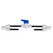 Malida water purifiers 0.6cm tube RO50/100/200 flush kit for membrane's