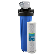 Express Water Whole House Water Filter System 1 Stage Carbon Filtration 11cm x 50cm