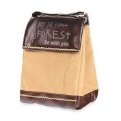 Camping May The Forest Be With You Insulated Lunch Bag