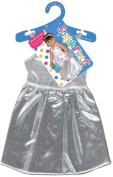 Doll Clothes Prom Dress - Silver Kids Children
