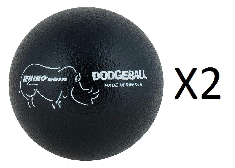 Champion 15cm Rhino Skin Dodgeball Playground Ball Durable Great For Kids  (2-Pack)