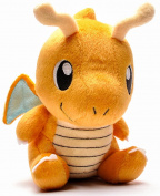 Dragonite Plush 18cm - Large Baby Dragonite Pokemon Plushie Toy 18cm Tall PRIME