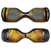 MightySkins Protective Vinyl Skin Decal for Swagtron T1 Hover Board Self Balancing Smart Scooter wrap cover sticker skins Golden Locks