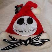 """THE NIGHTMARE BEFORE CHRISTMAS """" SANTA JACK SKELLINGTON """" ADULT SIZE SANTA HAT"""