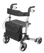 Foldable Lightweight Euro Style Rollator Walker