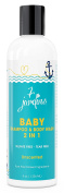 Unscented Natural Baby Shampoo and Wash - 2 in 1 Soothing for the Hair and Body 240ml Gentle for Children of All Ages - 100% Safe and Sulphate Free by 7 Jardins