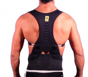 Agon Posture Corrector Support Back Brace - Relieves Neck, Back and Spine Pain - Improves Posture Clavicle Brace Size L/XL