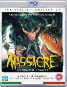 Massacre in Dinosaur Valley [Regions 1,2,3] [Blu-ray]