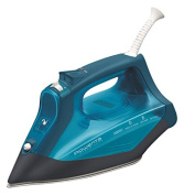 Rowenta DW3180 Steamcare 1600-Watt No Setting No Burning Steam Iron Stainless Steel Soleplate, 350-Hole, Blue