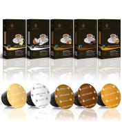 Gourmesso Flavour Bundle - 50 Nespresso® Compatible Coffee Capsules
