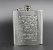 Woooow® Hip Flask Pocket Flagon Stainless Steel Flask, 210ml