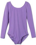YiZYiF Girls Gymnastics Leotard Ages 2-12 Stretchy Dance Sports Sleeve Top Uniform