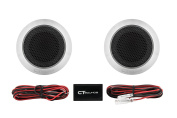 CT Sounds Meso 25mm Flush Mount Silk Dome Tweeters