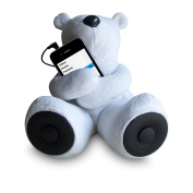 Sungale S-T1 Portable Teddy Speaker For iPod, iPhone, Smartphone, MP3, Media Player