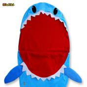 WALIKI TOYS Shark Sleeping Bag for Boys and Girls. Fun Slumber Bag