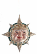 Gift /Boxed ! of Christmas Celestial Sun & Man in the Moon Motif Ornaments