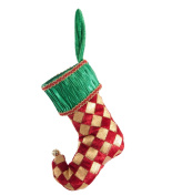 Christmas Elf Mini-Stocking Ornament