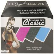 5.1cm Kinesio® Tex Classic Bulk Black Bulk