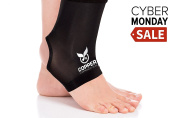 Copper Compression Gear PREMIUM Fit Recovery Ankle Sleeve -  .   - #1 Ankle Brace / Support Sock / Wrap / Stabiliser For Men And Women