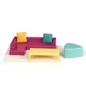 Lori Doll Living Room Lounge Set