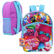 Dreamworks Trolls Backpack with Front Pocket - 41cm