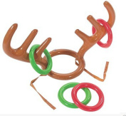 Crazy Night Inflatable Reindeer Antler Ring Toss Game