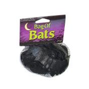 Fun World 91167BKFW Bag O Bats 15 Black Bats