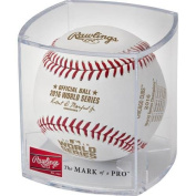 2016 World Series Champion Baseball Chicago Cubs in Display Case