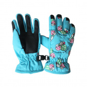 Toddlers Kids Toggle Windproof Waterproof Thermal Warm Padded Gloves 2-4 Years Outdoor Sports Gloves Cycling/Biking/Snowing/Skiing Gloves