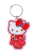 Hello Kitty Kimono Metal Keyring Key Chain