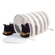 Laundry Wash Bag Tube For Shoes Mesh Sneaker NEW by Julia