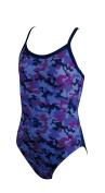 Zoggs Girl's Camo Racerback Swimming Costume
